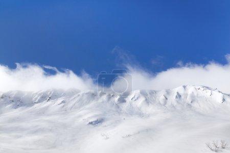 美丽的雪山峰全景_高清图片_邑石网